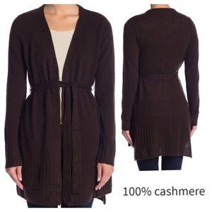 100% cashmere cardigan